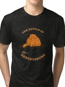 The Battle of Sheddysburg Cat Tri-blend T-Shirt