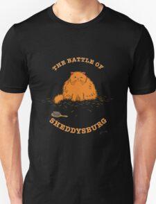The Battle of Sheddysburg Cat T-Shirt
