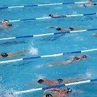 Swimmers by John Douglas