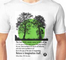 Nature is imagination Unisex T-Shirt