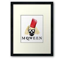 Yas mcQWEEN!!!!!!!! Framed Print
