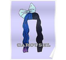 Melanie Martinez Carousel Hair Design  Poster