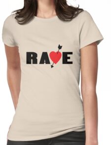 Vincents rave shirt from catherine geek funny nerd Womens Fitted T-Shirt