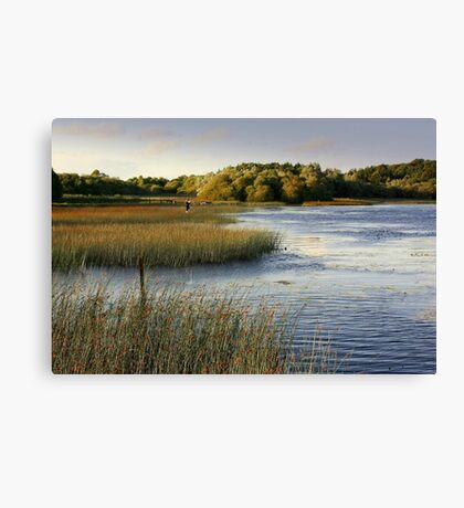 Brackley Lake - another view Canvas Print