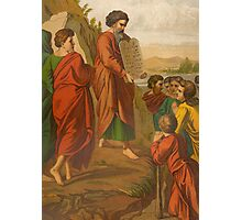 Moses descending from the Mount. Photographic Print