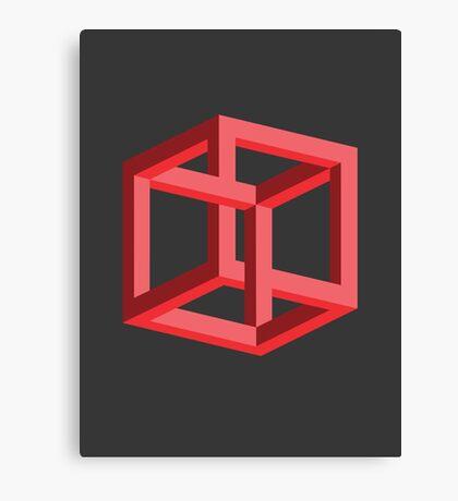 Penrose Cube Canvas Print