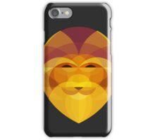 Lion Head Geometric iPhone Case/Skin