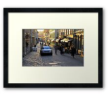 City Atmosphere Gothenburg Sweden Framed Print