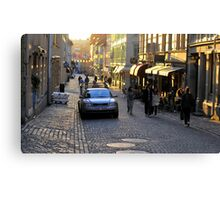 City Atmosphere Gothenburg Sweden Canvas Print
