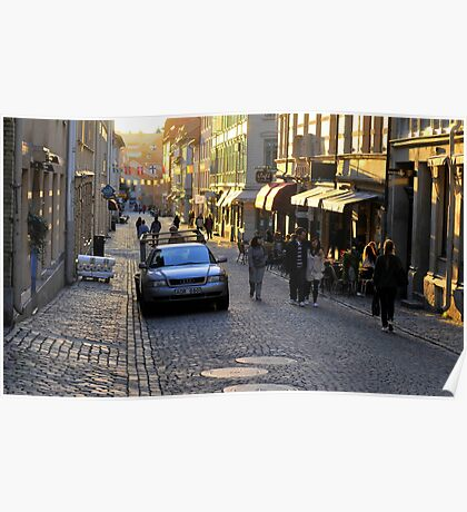 City Atmosphere Gothenburg Sweden Poster