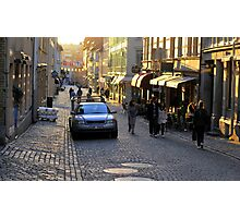 City Atmosphere Gothenburg Sweden Photographic Print