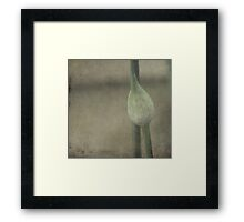 Let go Your Thoughts Framed Print