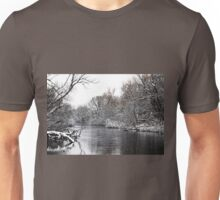 Winter On The Speed River Unisex T-Shirt