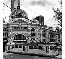 trams and trains Photographic Print