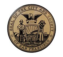 San Francisco City Seal by lawrencebaird