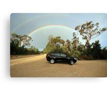 Bi-rainbow Canvas Print