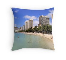 Gathering Place - Oahu Throw Pillow