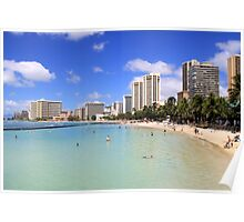 Gathering Place - Oahu Poster
