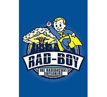 Rad Boy - Radioactive Superhero Photographic Print