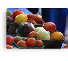 The Color of Fruit Canvas Print