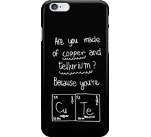 Life is Strange - Max's cute science note - White iPhone Case/Skin