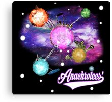 Galactic Premonition ~ Anachrotees' Design Canvas Print