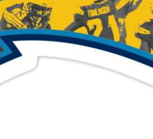 San Diego Chargers logo 4 Sticker