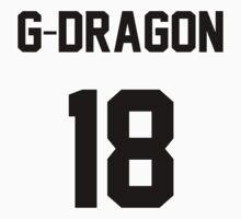 Big Bang G-Dragon Jersey Baby Tee
