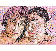 John and Yoko Photographic Print