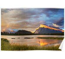 Vermillion Lakes, Banff, Canada Poster