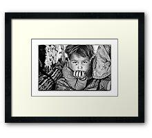 Nomad Child Framed Print