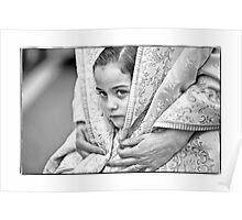 Child In Valencia Poster