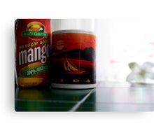 Mango Juice   Metal Print