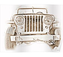 Willy's Jeep Poster