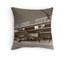Wrigley Field - Chicago Cubs Throw Pillow