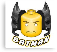 Lego Batman Canvas Print