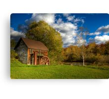 Abandoned Grist Mill Canvas Print