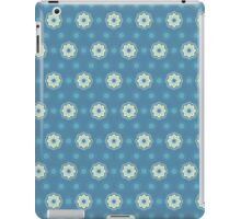 Pattern in circles, dot and flowers iPad Case/Skin