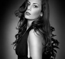 Lady in Black by MonicaMulder