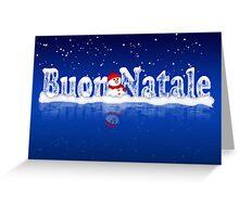 Italian Christmas Card - Buon Natale Greeting Card