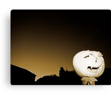 Evil of the Night Canvas Print
