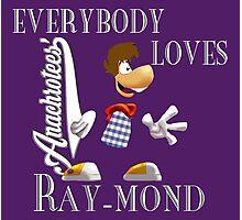 Everybody Loves Ray-mond ~ Anachrotees Design Photographic Print