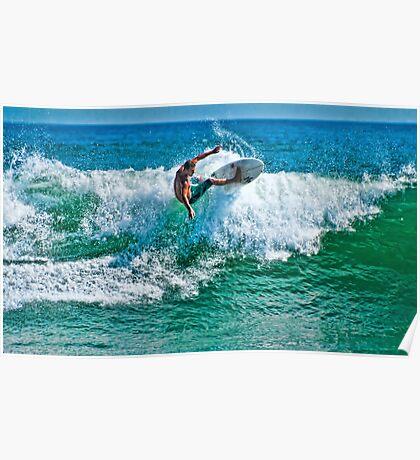 SURFER DUDE Poster