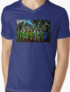 A Fence In Haiku Mens V-Neck T-Shirt