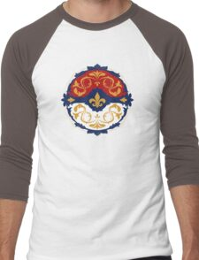 Ornate Pokeball Men's Baseball ¾ T-Shirt