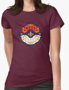 Ornate Pokeball Womens Fitted T-Shirt