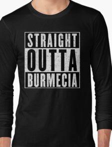 Burmecia Represent! Long Sleeve T-Shirt