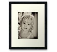 Pure innocence Framed Print