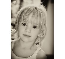 Pure innocence Photographic Print