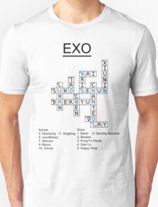 Exo Crossword Puzzle T-Shirt